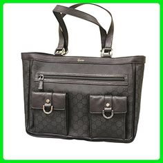 c6673af5b63 Gucci Abbey Tote Handbag Purse Black Nylon Bag 268639 1001 - Totes ( Amazon  Partner