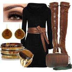 Girl's Night Out, created by esha2001 on Polyvore