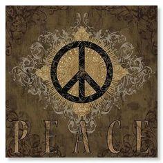 Peace Hippie Art