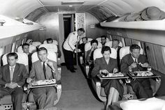 LA to London in a Lockheed Constellation - an incredible story of how times have changed. First published in 1958: http://airfactsjournal.com/2014/09/archives-bob-buck-flies-connie-la-london/