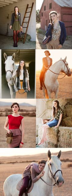 Vintage details in a Western setting from Ruche Blog