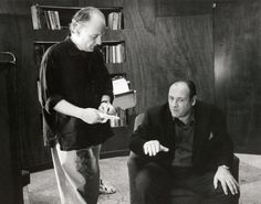 "David Chase, the creator of ""The Sopranos,"" talks to James Gandolfini on set of the HBO show. ""He was a genius,"" Chase said in a statement following the actor's death. ""Anyone who saw him even in the smallest of his performances knows that. He is one of the greatest actors of this or any time."""