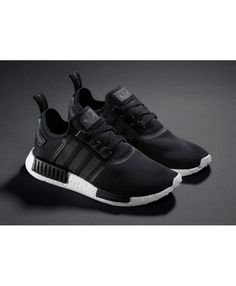 5c009bb601f6f Adidas Nmd Monochrome Black Shoes