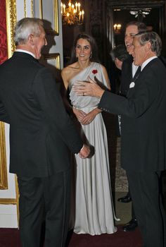 11/10/2011: National Memorial Arboretum Appeal reception at St. James's Palace, with Prince William (Westminster, London)