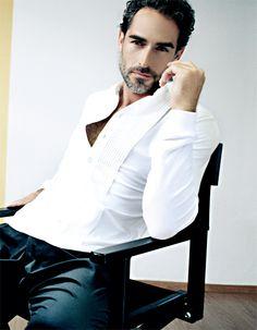 Sergio Muniz~ love the salt and pepper beard