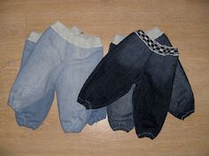 . . . Wesens-Art: Jeans recycling