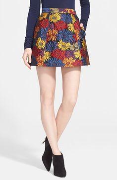 Alice + Olivia 'Loran' Miniskirt available at #Nordstrom