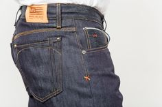 Guys here's a peek at our brand new Selvage Denim Engineer Jeans for our Fall Collection!