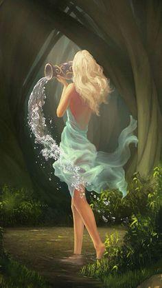 Aquarian in the breeze