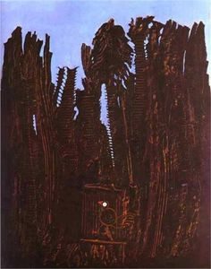 Max Ernst. Forest and Dove (1927)