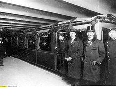 U-Bahn Berlin 1902 Eroeffnung der Berliner Hochbahn am Potsdamer Platz