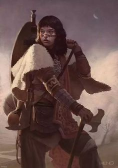 Journey of a Warrior Princess by Rodrigo Idalino Fantasy Magic, Fantasy Warrior, Fantasy Rpg, Medieval Fantasy, Fantasy Artwork, Dark Fantasy, Woman Warrior, Fantasy Adventurer, Character Concept