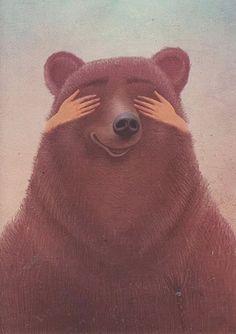 'Masha and the bear' , made by: Galia Zinko - illustration Art And Illustration, Illustrations Posters, Bear Girl, Love Bear, Cute Wallpapers, Illustrators, Fairy Tales, Art Drawings, Character Design