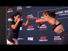 MMA 'Karate Hottie' Michelle Waterson introduces special move from 'Master Yai Yai'