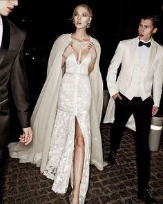 Add a touch of drama to your wedding day attire with a glamorous cape in place…