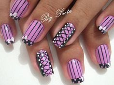 Corset on nails