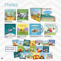 usbornebookie.com    Teach your child to read with these appealing and fun Phonics books.