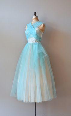 vintage 50s dress | Chrystaline dress