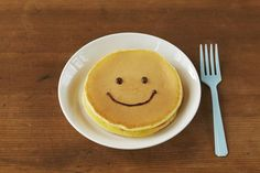Pancake - cannot be easier - and will make u smile