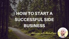 How to Start a Successful Side Business