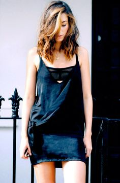 cool take on the LBD. Carmen in Sydney. #TheChroniclesOfHer