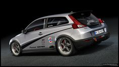 This C30 was modified for racing by Dangeruss.