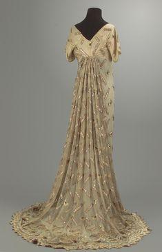 Evening dress, 1795-1815