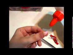 sakura petal - tsumami kanzashi technique