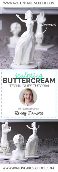 Video Tutorial! Renay Zamora joins us for a an exclusive look into �Sculpting Buttercream!� This isn�t your typical buttercream, this buttercream feels like CLAY. The creative possibilities are endless! Click through to see more about this tutorial!