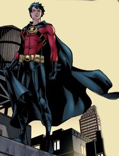 Tim Drake - Red Robin << one of my favorite pictures of Tim
