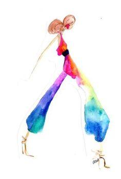 La moda a todo color: los distintos usos de colores en la moda y sus temporadas.