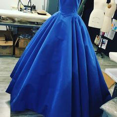 Blue and fabulous #Resort2017 on the way! #christiansiriano