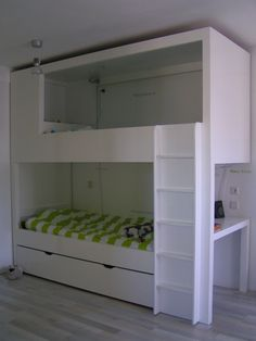 kinderkamer Ikea Hack Bedroom, Room Ideas Bedroom, Kids Bedroom, Bedroom Decor, Toddler Bunk Beds, Cool Beds, Fashion Room, Girl Room, Interior Design Living Room
