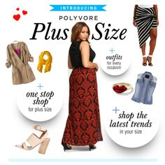 New on Polyvore: Plus Size fashion! Read all about it right now, on the blog: http://polyv.re/PlusBlog