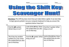 Shift+Key+Scavenger+Hunt+from+MrsPEdTechTalk+from+MrsPEdTechTalk+on+TeachersNotebook.com+(2+pages)++-+These+worksheets+are+to+help+students+learn+to+find+where+the+special+character+keys+are+located+on+the+computer+keyboard.