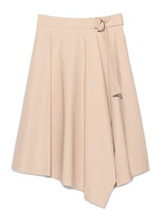 アシンメトリーラップスカート(膝丈スカート)|FRAY I.D(フレイアイディー)|ウサギオンライン公式通販サイト
