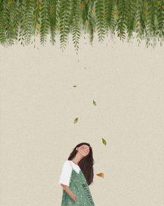New Tree Illustration Art Drawings Ideas Art And Illustration, Gravure Illustration, Art Anime, Anime Art Girl, Arte Sketchbook, Aesthetic Art, Couple Aesthetic, Oeuvre D'art, Cartoon Art