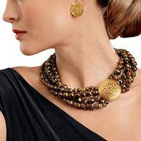Sutton Hoo Anglo-Saxon Torsade Necklace
