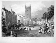 An Old Postcard Image of Dedham, Essex