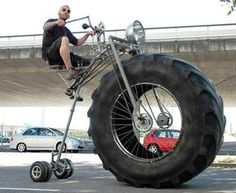 Big Wheel For Adults #fatbike #bicycle