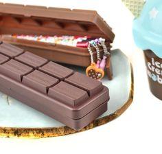 Milk Chocolate Bar Pencil Box