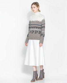 Zara Jacquard Sweater