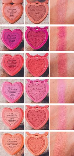 Too Faced NEW Love Flush Blushes #toofaced