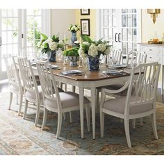 Stanley Furniture's Charleston Regency Dining Set by Humble Abode