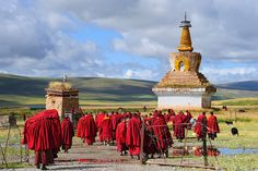 Sershul Tekchen Dargyeling Monastery Tibet