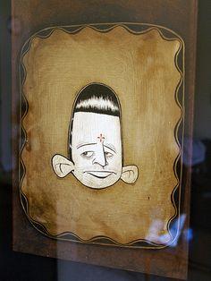 Barry McGee a. Barry Mcgee, Street Art Graffiti, Urban Art, Cool Art, Contemporary Art, Shapes, Cool Stuff, Gallery, Artwork