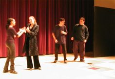 How to Teach Drama: Lesson Plans, Activities, and Monologues How to Teach Drama: I love this site. It cites Viola Spolin's book, Theater Games for the Classroom. I've been using and loving that one for years! Theatre Games, Teaching Theatre, Drama Theatre, Musical Theatre, Teaching Art, V Drama, Drama Class, Drama Activities, Drama Games