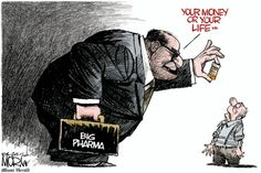 What health ins. doesn't take, big pharma will. #SinglePayer