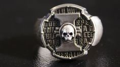 Insignia of the Inquisitor Ring- Warhammer 40K Jewellery - Hand-made Signet RIng - Free Shipping