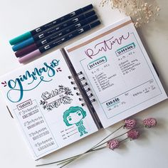 Bullet Journal Fitness Workout